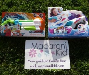 {{Giveaway}} Hasbro's Nerf Super Soakers