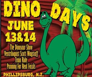 Dino Days at Delaware River Railroad Excursions June 13-14, 2015