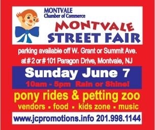 Montvale Street Fair Coming June 7, 2015