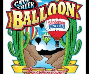 6th Annual Cave Creek Balloon Festival on May 23rd