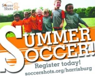 Summer Soccer for ages 2-7