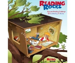 'Reading Rocks' program rewards children $10 for reading 10 books