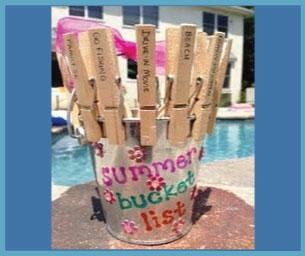 Macaroni Craft: Create A Summer Bucket List