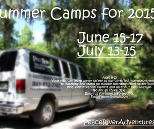Peace River: Junior Peace River Explorers Camp
