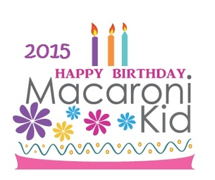 2015 Macaroni Kid Birthday Party Guide!!