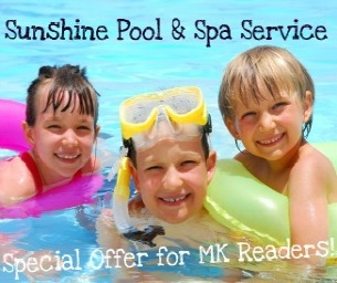 Giveaway: Win 3 Months of Pool Service from Sunshine Pool Service