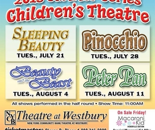 NYCB Theatre at Westbury's Children Summer Series