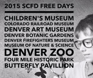 SCFD Free Days for 2015 - Who doesn't like free?