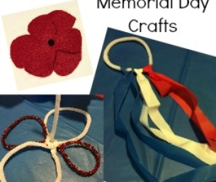 Make Poppies and Dancing Ribbons for Memorial Day