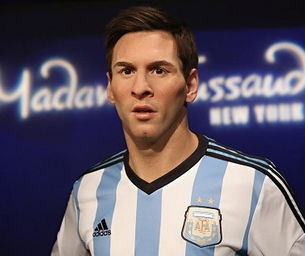 MADAME TUSSAUDS LAUNCHES DYNAMIC LIONEL MESSI WAX FIGURE