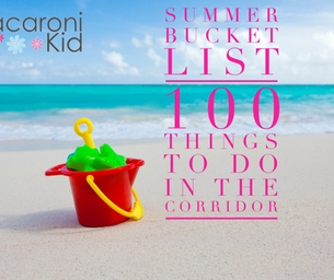 100 Things to Do in the Corridor this Summer