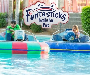 WIN Two Funtasticks Wrist Bands + Laser Tag!