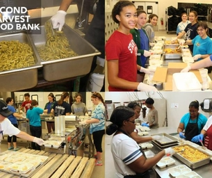 Earn Service Hours with Second Harvest Food Bank