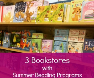 3 Bookstores with Summer Reading Programs