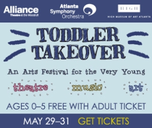 Tix On Sale For Toddler Takeover at The Woodruff Arts Center