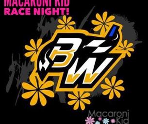 Race Night with Macaroni Kid - KIDS UNDER 12 FREE!