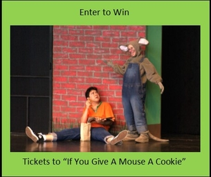 IF YOU GIVE A MOUSE A COOKIE RETURNS TO THE CITY THEATRE JUNE 6 & 7