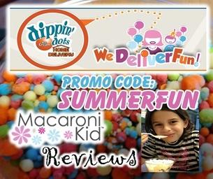 Mac Kid Reviews: Dippin' Dots