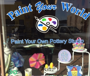 """Paint Your World"" - Create Special Treasures"
