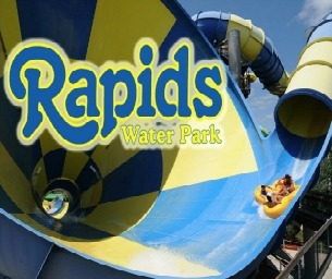 Giveaway! Win a Family 4-Pack of Tickets to Rapids Waterpark!