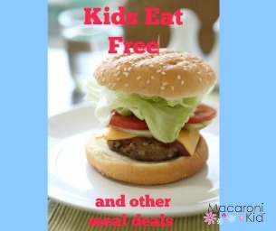 Kids Eat Free and Other Meal Deals