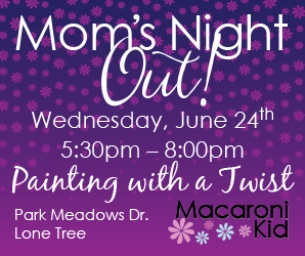 MOM'S NIGHT OUT: PAINTING, WINE, & FUN!