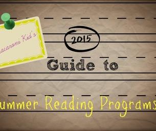 Get FREE Rewards through Summer Reading Programs
