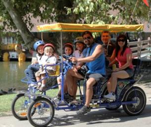 Wheel Fun Rentals® at Irvine Park Bike and Paddle Boat Rentals
