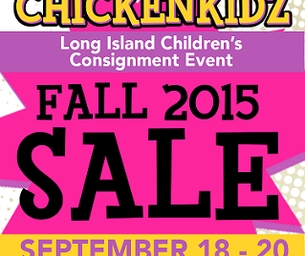 ChickenKidz Consignment Event - September 19, 20 & 21