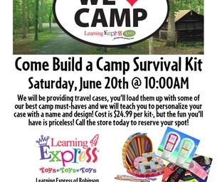 Camp Survival Kit - Come Build One!