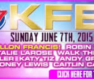 EVENT: K104.7 KFEST Concert 6/7