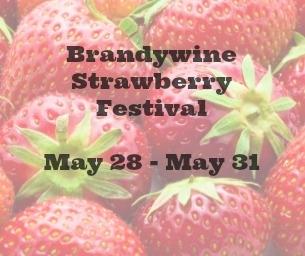 Brandywine Strawberry Festival May 28-31, 2015
