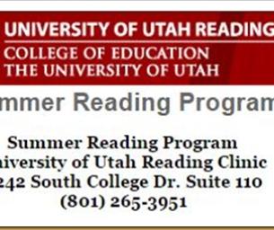 University of Utah Reading Clinic