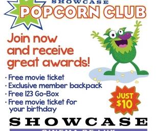 The Popcorn Club at Blackstone Valley 14: Cinema de Lux