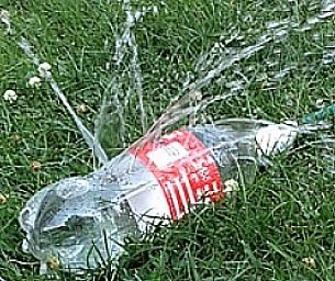 Warm Weather Fun! Create a DIY Sprinkler