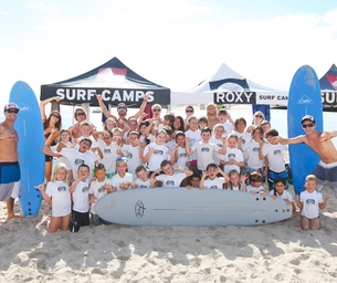 SpotLight: Living Water Surf School's Summer Break Camp Is Open!