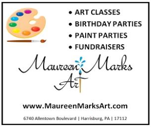Maureen Marks Art Offers Art Classes, Summer Camp & Adult Paint Nights