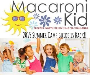 Mac Kid Decatur-N Druid Hills-Va Highlands Summer Camp Guide!
