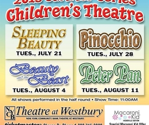 NYCB Theatre at Westbury's Children's Summer series