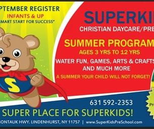 [SUMMER CAMP] SuperKids Club - A Super Place for Super Kids