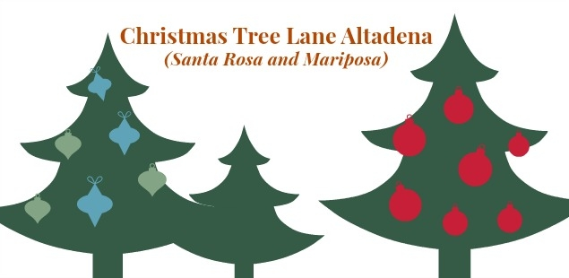 Christmas Tree Lane, Altadena http://www.christmastreelane.net