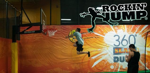 Dunk Ball @ Rockin' Jump Mt. Kisco