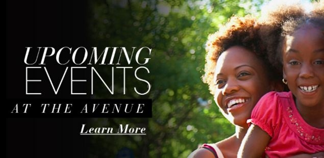 Discover Deals and Events at The Avenue