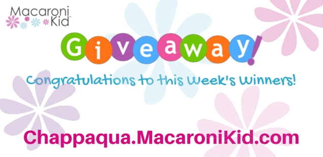 Congratulations to our Giveaway Winners!