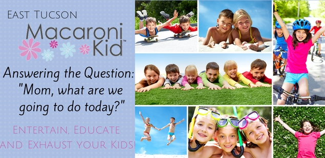 Entertain, Educate and Exhaust Your Kids!
