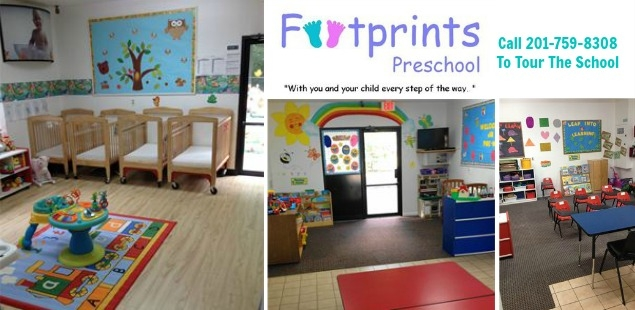 Footprints Preschool Provides Flexible Programs for Ages 6 Weeks to 6 Years Old