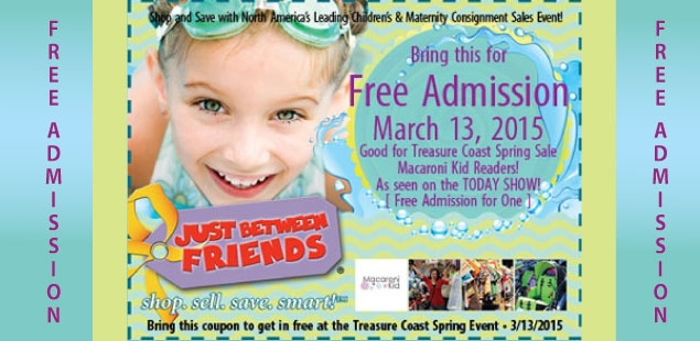 Free Admission Coupon Exclusively for Macaroni Kid Readers!