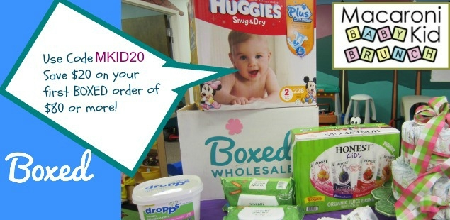 Boxed Wholesale has a special code for Macaroni Kid Subscribers!
