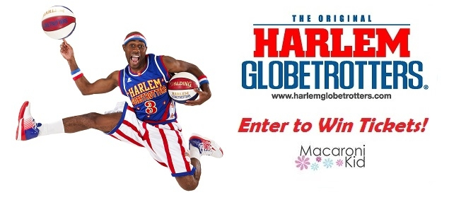 Enter to win 4 tickets to the Harlem Globetrotters!