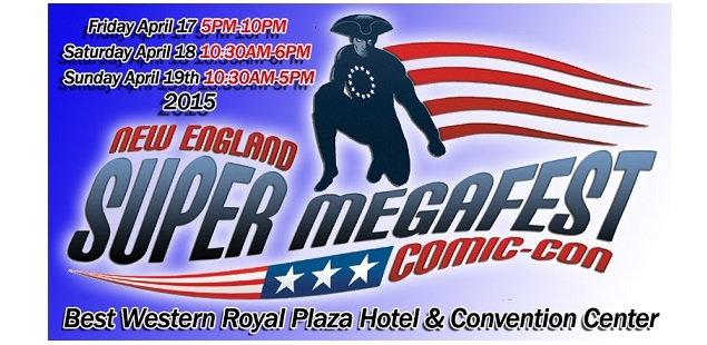 Enter to win 4 tickets to Super Megafest Comic Con!